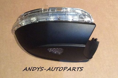 VW PASSAT CC 2010 ONWARD WING MIRROR INDICATOR LENS WITH PUDDLE LAMP  L/H OR R/H